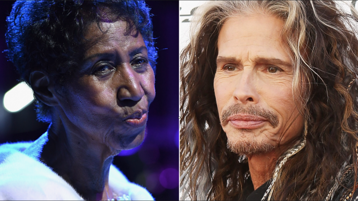 Steven Tyler Only Has One Thing To Say To Aretha Franklin Right Now | Society Of Rock Videos