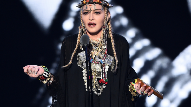 Madonna Paid Tribute To Aretha Franklin Last Night, And Twitter Is NOT Happy | Society Of Rock Videos