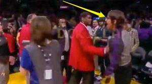 Rock Legend Gets Kicked Out Of Lakers Game When Things Become Hostile During Huge Brawl