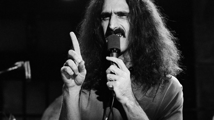 Frank Zappa Kicked Off SNL After Making This Snarky Comment | Society Of Rock Videos