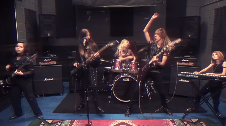 "Some People Are Born To Rock- Liliac Covers Black Sabbath's ""Paranoid"""