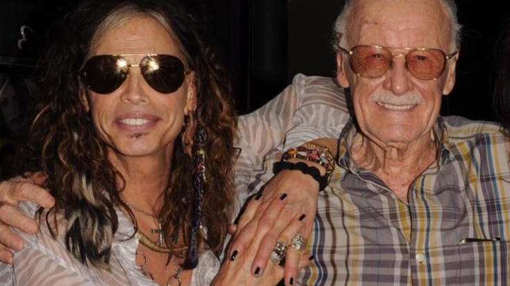 Steven Tyler Sums Up Stan Lee's Incredible Legacy In Just 6 Short Words | Society Of Rock Videos