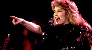 Stevie Nicks Couldn't Believe Her Eyes When This Legend Strolled Into Her Studio One Day