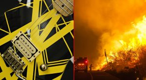 Legendary Guitar Company's Factory Destroyed In Wildfire