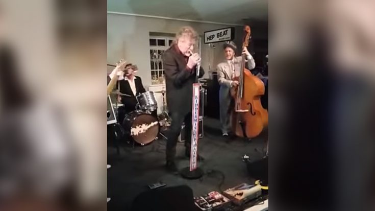 Things Got Wild When Robert Plant Crashed A Party And Sang Elvis Presley Covers | Society Of Rock Videos