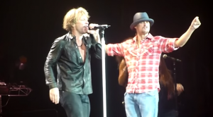 "Bon Jovi and Kid Rock Start A Dance Party With ""Old Time Rock and Roll"""