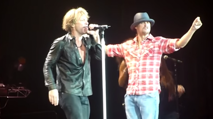 "Bon Jovi and Kid Rock Start A Dance Party With ""Old Time Rock and Roll"" 
