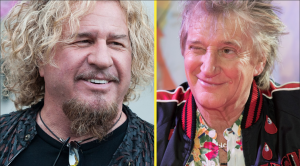 This Surprisingly Simple Tip From Rod Stewart Turned Sammy Hagar Into A One Man Party Overnight