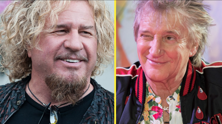 This Surprisingly Simple Tip From Rod Stewart Turned Sammy Hagar Into A One Man Party Overnight | Society Of Rock Videos
