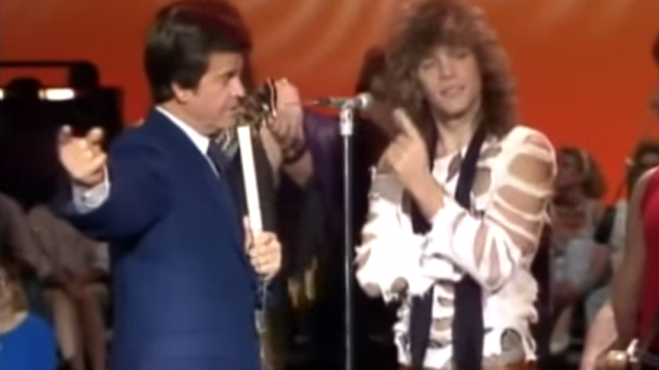 Bon Jovi's First Television Interview Is A Little Awkward!