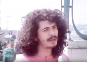 Santana Is Interrupted During A Meal in 1971 and It's Interview Gold