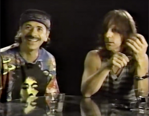 Carlos Santana and Jeff Beck's Advice For Successful Gigs