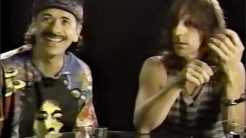 Carlos Santana and Jeff Beck's Advice For Successful Gigs | Society Of Rock Videos