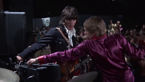 Jeff Beck and Jimmy Page On Stage for Blow Up is Forever Smashing