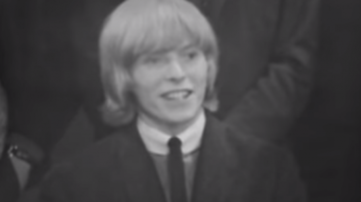 17 Year Old David Bowie Speaks Against The Cruelty of Long-Haired Men | Society Of Rock Videos
