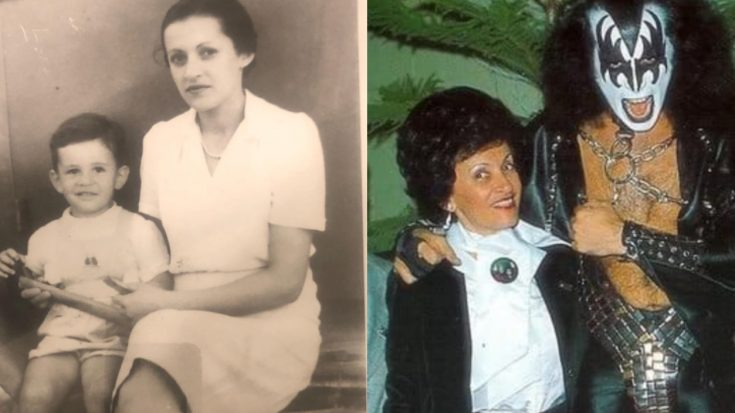 Gene Simmons' Heartbreaking Tribute To His Late Mother Might Just Make You Cry…