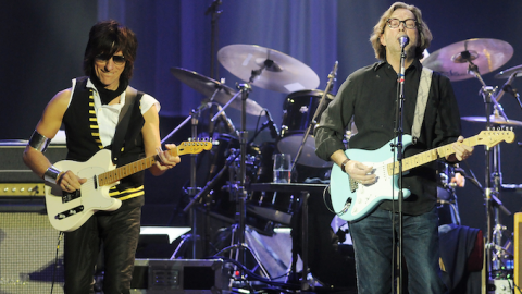 Jeff Beck and Eric Clapton Perform A Golden Classic No One Expected | Society Of Rock Videos