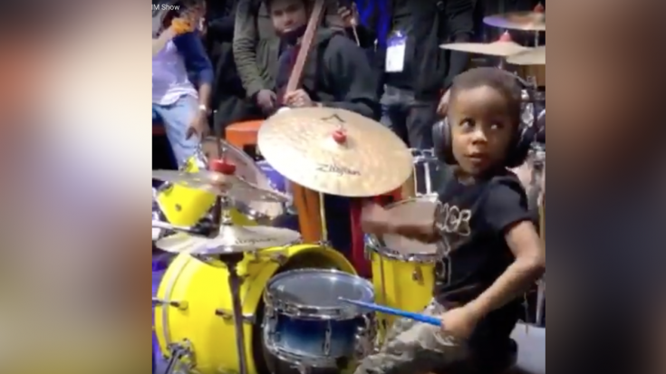 4-Year-Old Drummer – So Good, His Whole Band Stops Playing To Watch Him Jam | Society Of Rock Videos