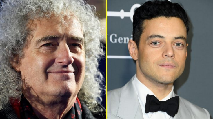 Brian May Admits That Meeting Rami Malek Caused Him To Break The Rules When Casting Freddie Mercury | Society Of Rock Videos