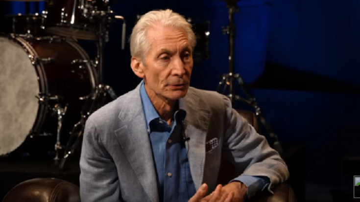 Watch Chad Smith Interview Charlie Watts About Drumming And Jazz | Society Of Rock Videos