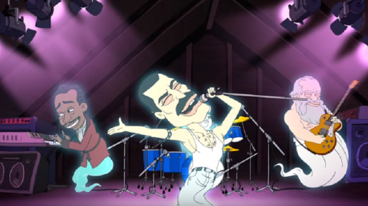 """A Netflix Show Called """"Big Mouth"""" Features Freddie Mercury Singing 