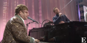 "See Elton John & Taron Egerton In Breathtaking Performance Of ""Tiny Dancer"""