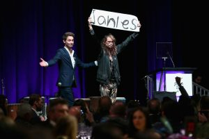 Steven Tyler Opens Home For Abused Women