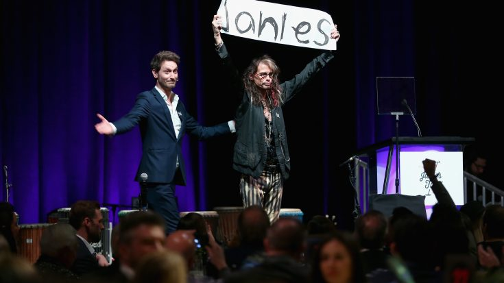 Steven Tyler Opens Home For Abused Women | Society Of Rock Videos