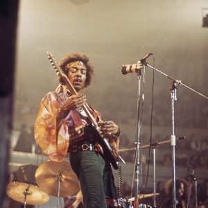 French Artist Perfectly Captures Jimi Hendrix's Psychedelic Image
