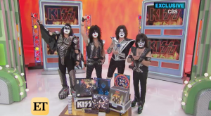 KISS Launches Music Week On 'The Price Is Right' And Surprises Superfan