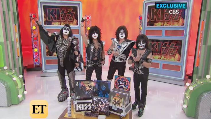 KISS Launches Music Week On 'The Price Is Right' And Surprises Superfan | Society Of Rock Videos