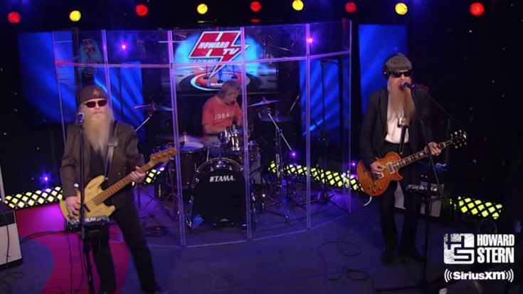 "ZZ Top Performs Long Version of ""La Grange"" on The Howard Stern Show 