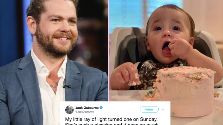 Jack Osbourne's Birthday Message To Daughter Minnie As She Turns 1 Is Absolutely Precious | Society Of Rock Videos