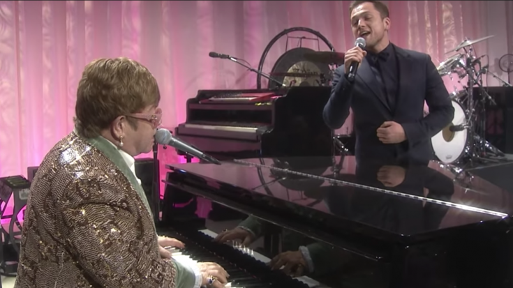 Elton John And Taron Egerton Crush 'Tiny Dancer' In The Oscar Night Performance You Didn't Get To See | Society Of Rock Videos