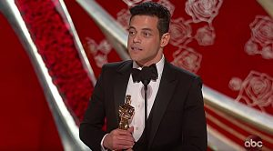Rami Malek Wins Oscar For Freddie Mercury Portrayal