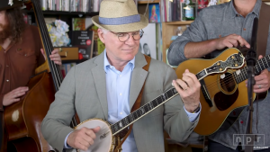 Ever Realize How Good Movie Star Steve Martin Is On The Banjo?