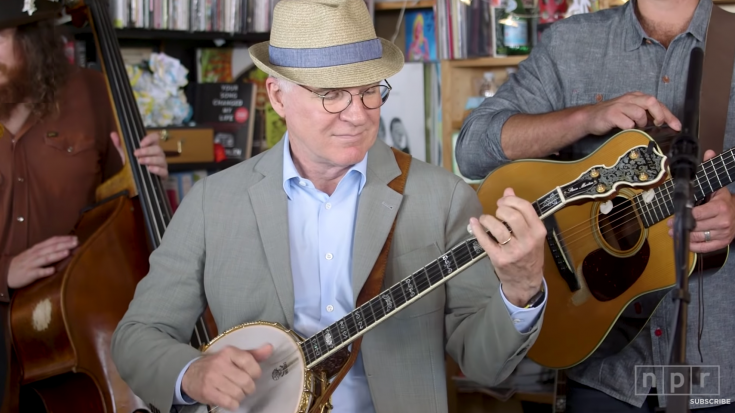 Ever Realize How Good Movie Star Steve Martin Is On The Banjo? | Society Of Rock Videos