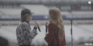 The Rolling Stones Just Streamed A Legendary Duet