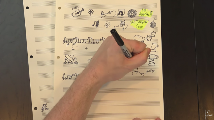 "Led Zeppelin's ""Immigrant Song"" Explained With Doodles Makes Total Sense"
