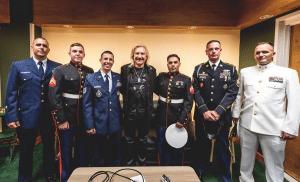 Legendary Rocker's Charity Raises Huge Amounts for Brave US Veterans