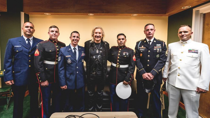 Legendary Rocker's Charity Raises Huge Amounts for Brave US Veterans | Society Of Rock Videos