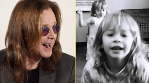 "Ozzy Osbourne's Grandbabies Sing ""Crazy Train"" To Cheer Him Up And It's Too Cute For Words"