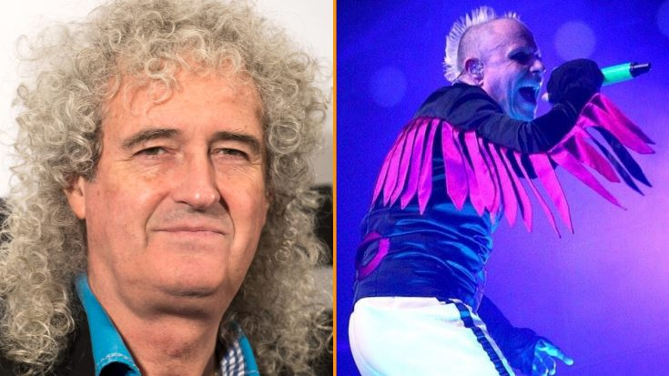 Brian May Pays Tribute To Keith Flint After His Death | Society Of Rock Videos