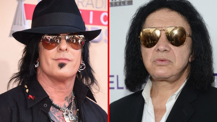 """Nikki Sixx Takes An Even Bigger Dig At KISS For """"Stealing"""" His Band's Idea… 