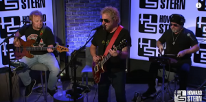 Sammy Hagar Rocks Out To Van Halen Classic On The Howard Stern Show