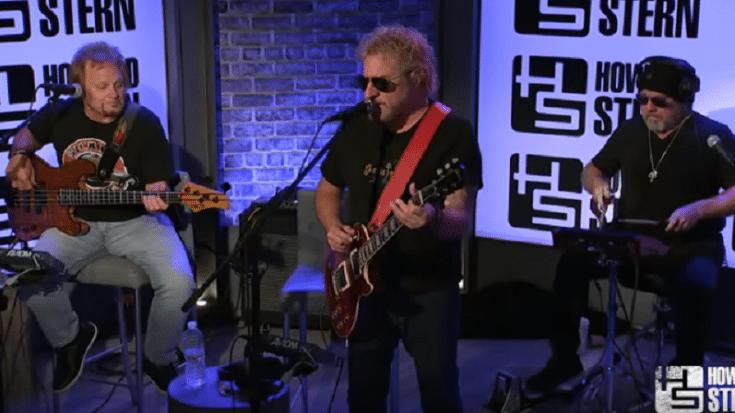 Sammy Hagar Rocks Out To Van Halen Classic On The Howard Stern Show | Society Of Rock Videos