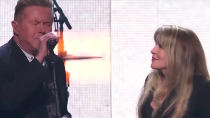 """Don Henley And Stevie Nicks' Duet- """"Leather And Lace"""" 
