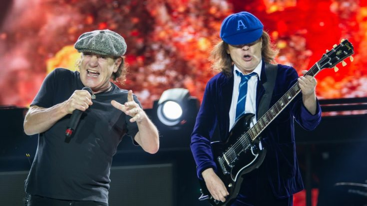 Report: Brian Johnson To Join AC/DC On Next Tour | Society Of Rock Videos