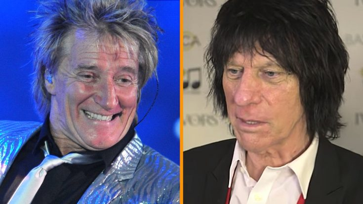 Report: Rod Stewart & Jeff Beck To Reunite For The First Time In Over 35 Years
