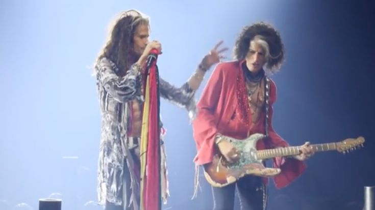 NEW!! Steven Tyler Sings The Very First Song He Wrote With Joe, Live On Stage | Society Of Rock Videos